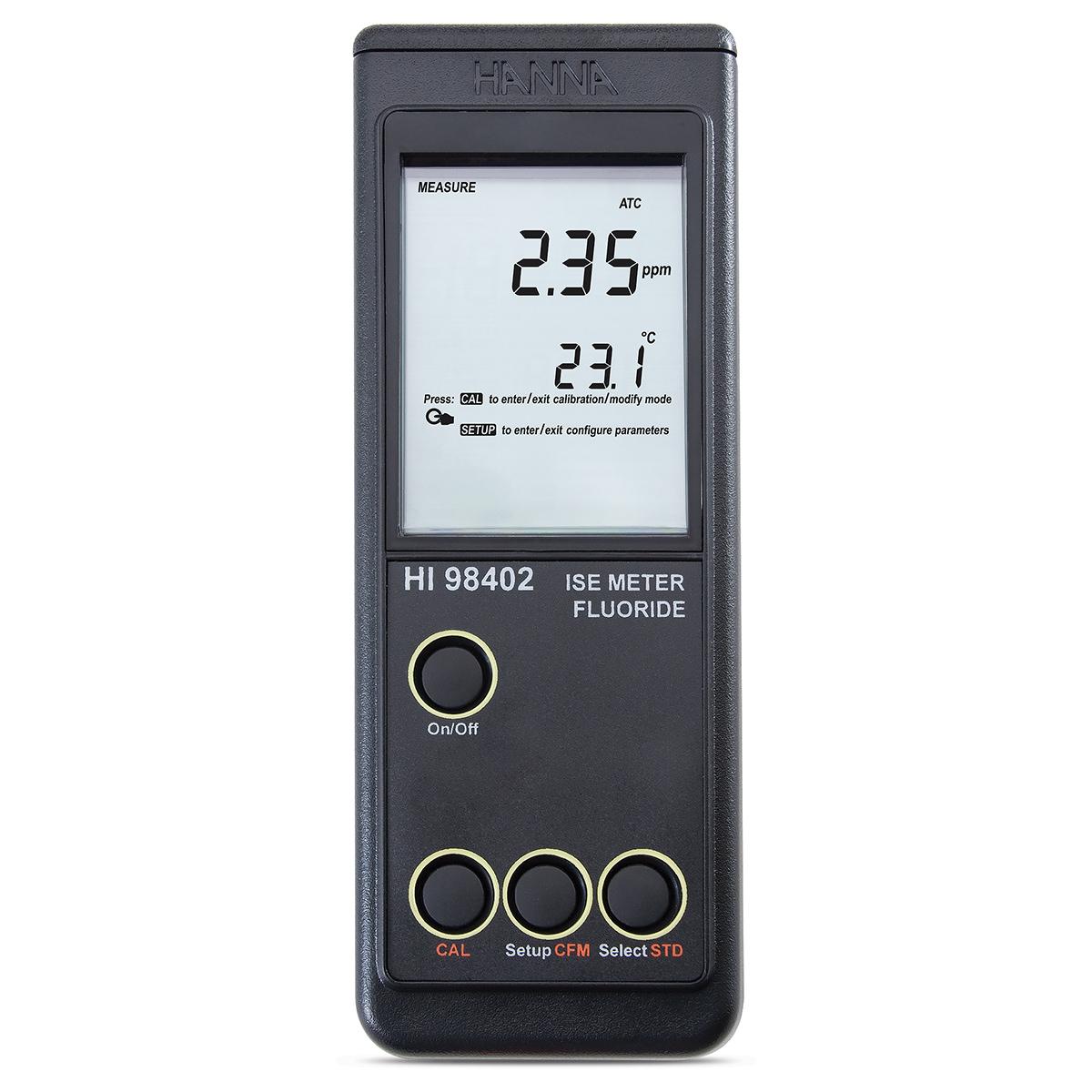 Medidor Portátil para Fluoruro - HI98402