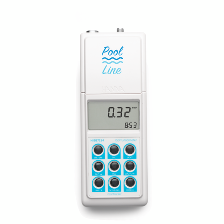 Medidor Portátil de Turbidez ISO Línea Piscina – HI987134