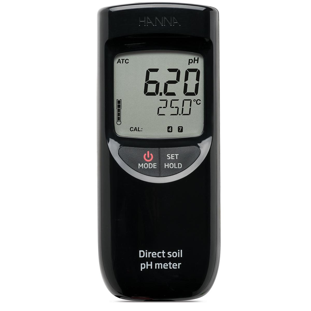 Medidor Portátil de pH para Medición Directa en Suelo - HI99121