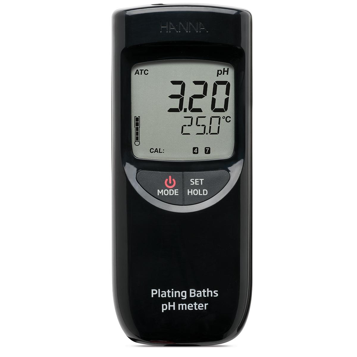 Medidor Portátil de pH para Enchapado - HI99131