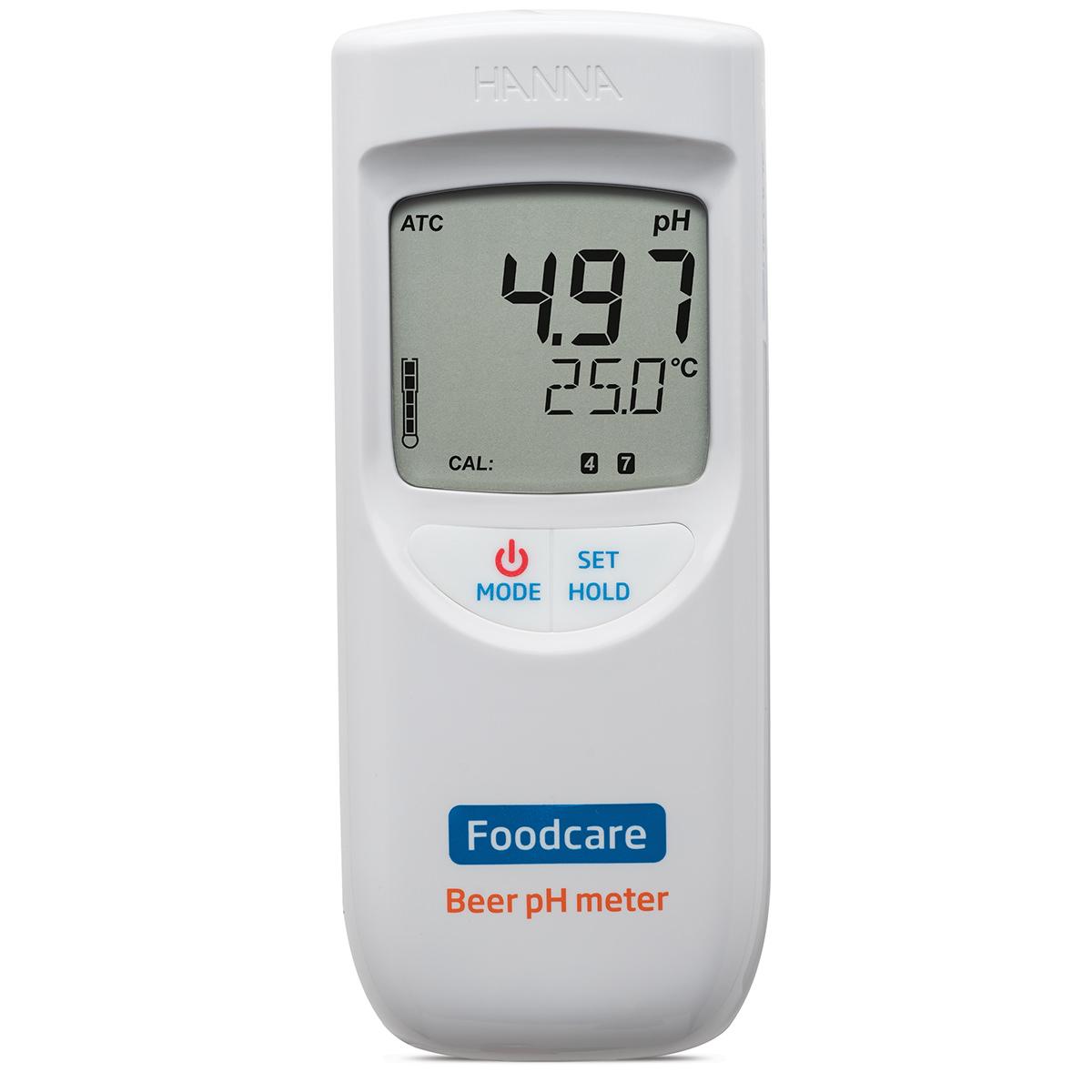 Medidor Portátil de pH para Análisis de Cerveza - HI99151