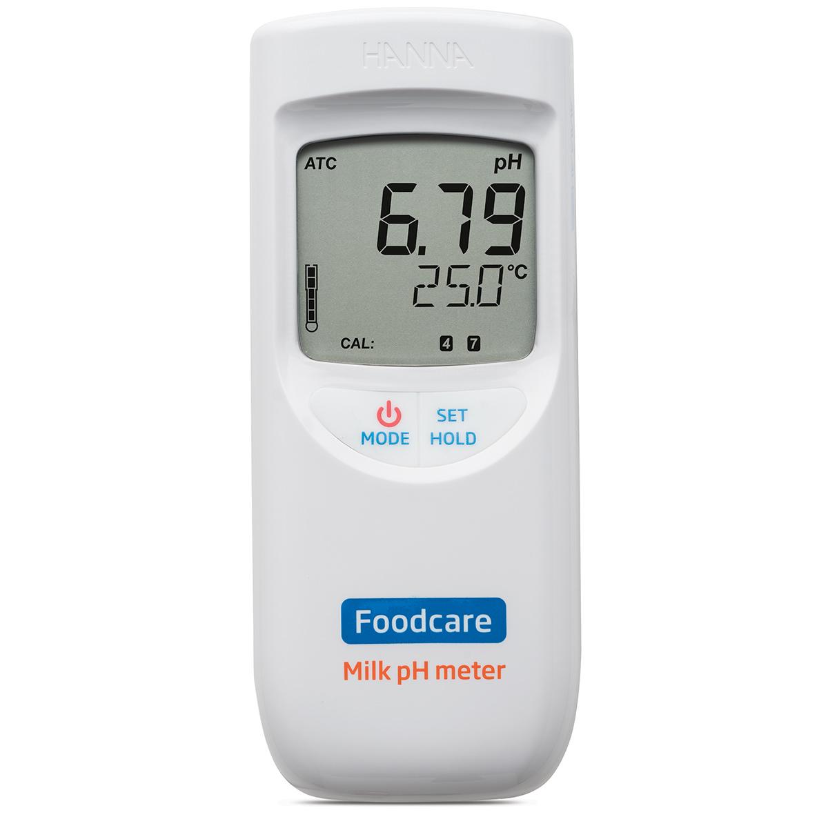 Medidor de pH Portátil para Leche - HI99162