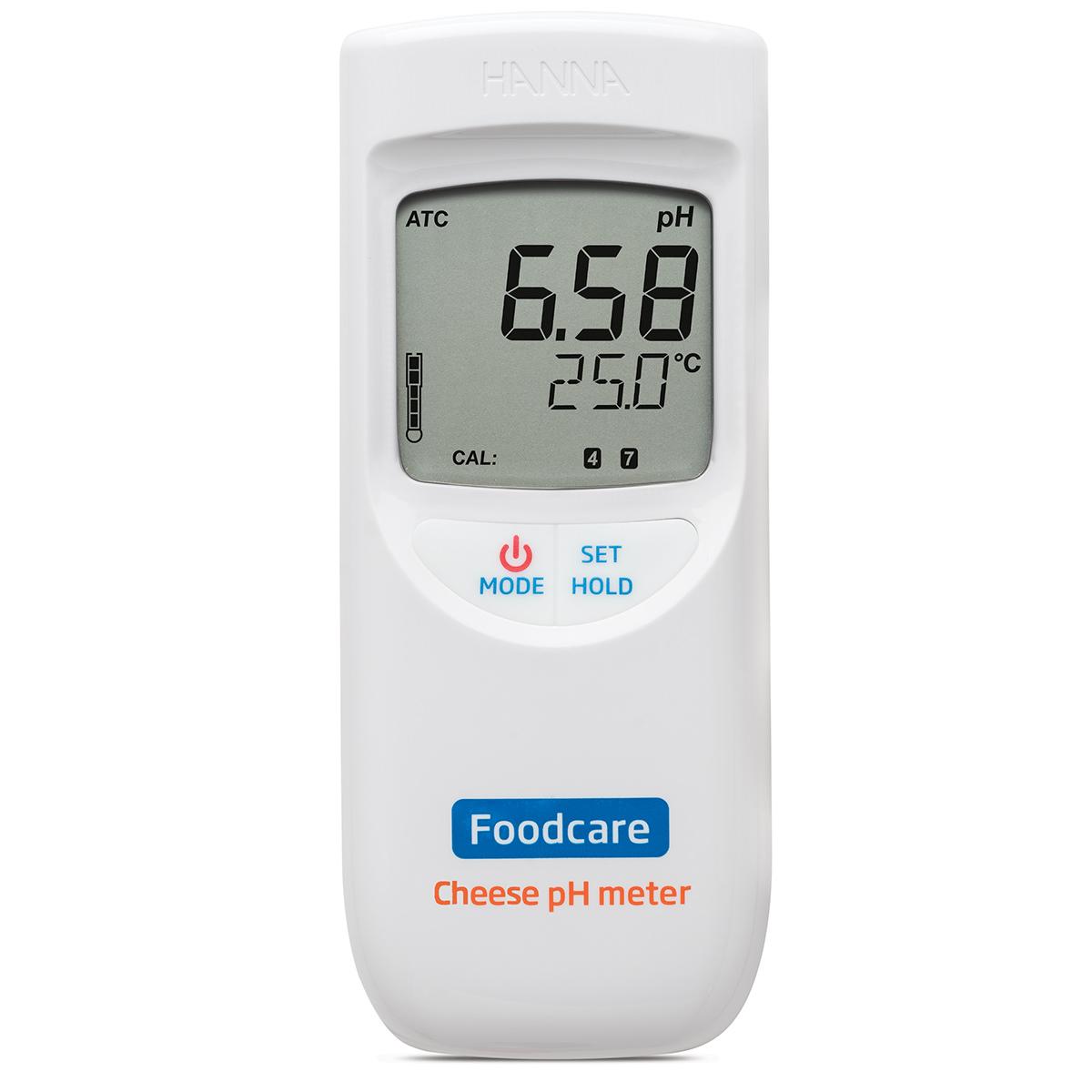 Medidor Portátil de pH para Queso - HI99165