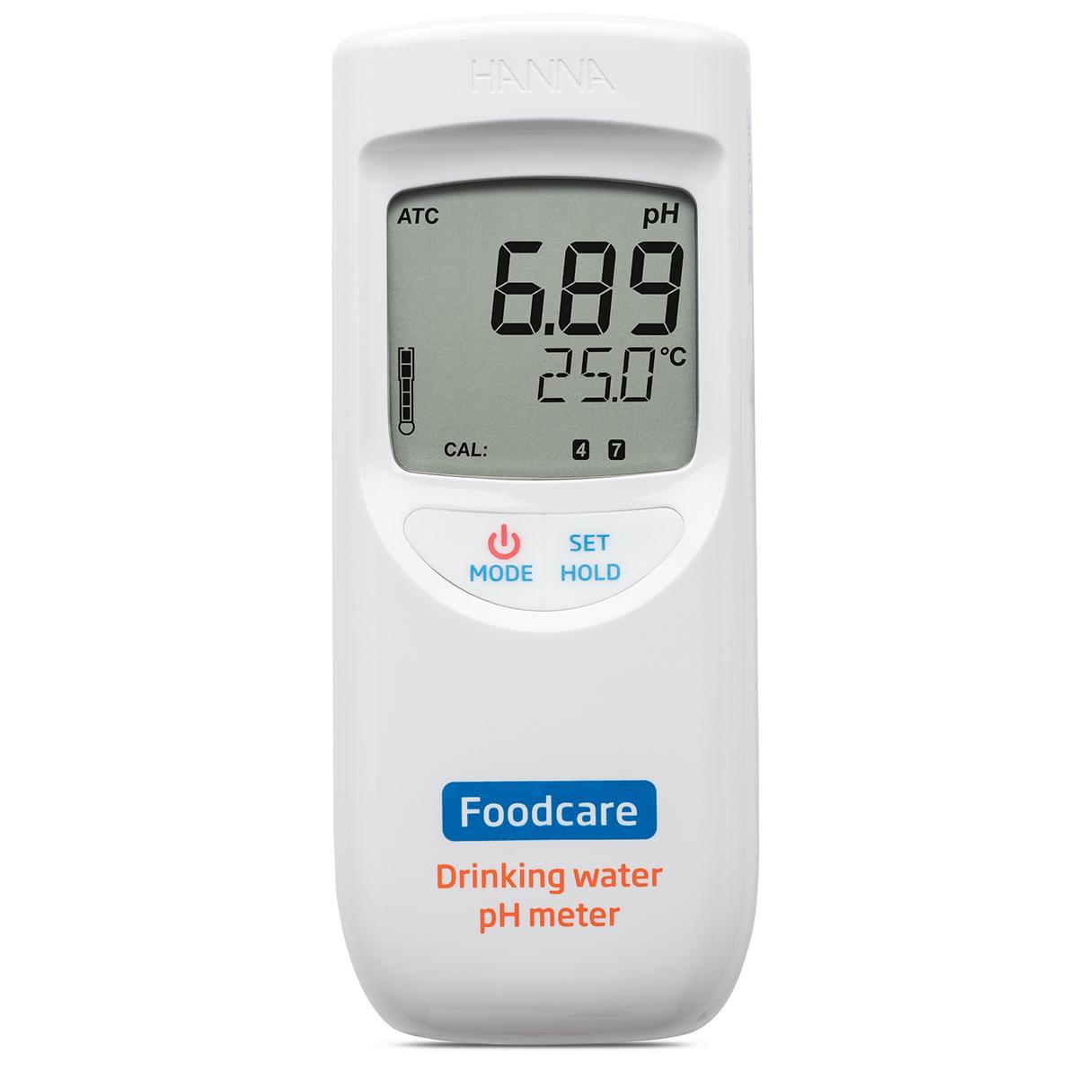 Medidor Portátil de pH para Agua Potable - HI99192