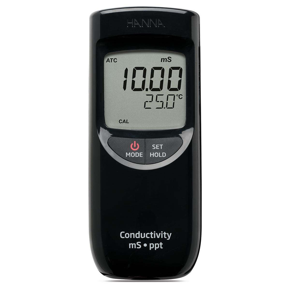 Medidor Portátil de CE / TDS de Rango Alto - HI99301
