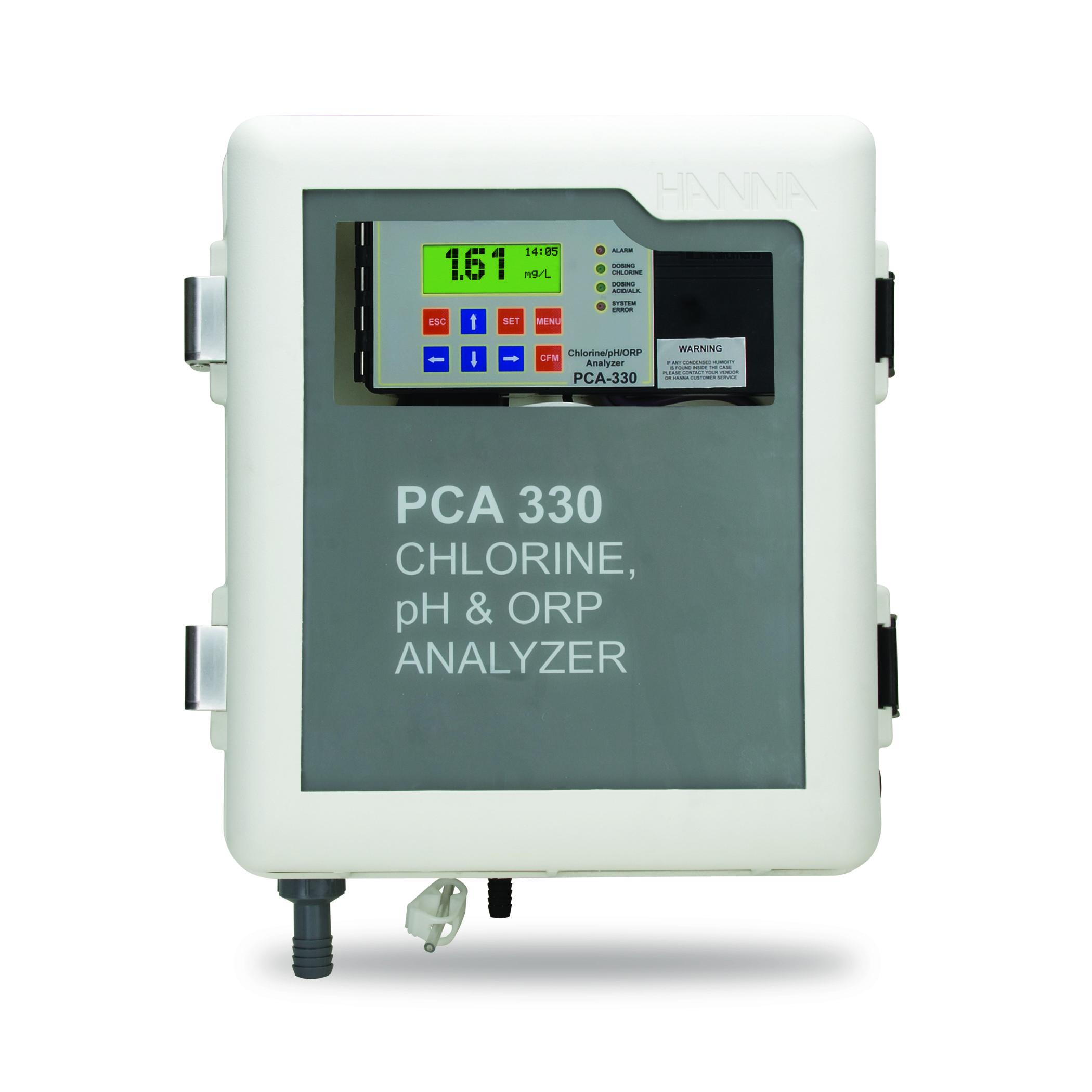 Analizadores de Cloro, pH, ORP y Temperatura - Serie PCA300