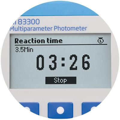 Temporizador de reacción incorporado