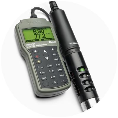 2021: Primer medidor multiparámetro del mundo con tecnología óptica disuelta que tiene conectividad Bluetooth®