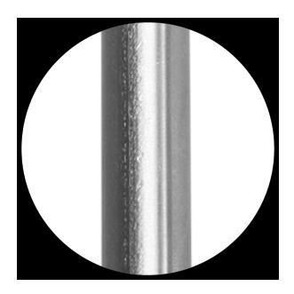 Titanium pH electrode body