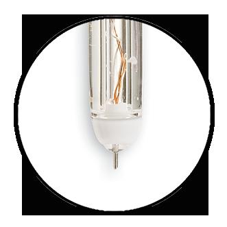 platinum sensing pin