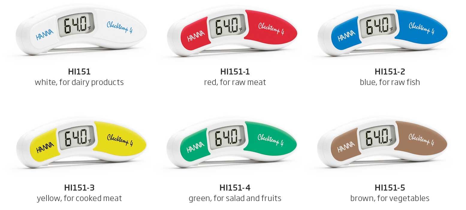HI151 Checktemp®4 Temperature Tester Family