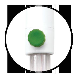 Maintenance free gel filled electrode